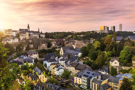 The City of Luxembourg is filled with incredible architecture