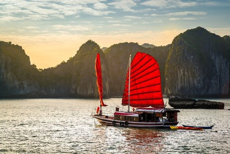 Ha Long Bay, Unesco world heritage site in Vietnam