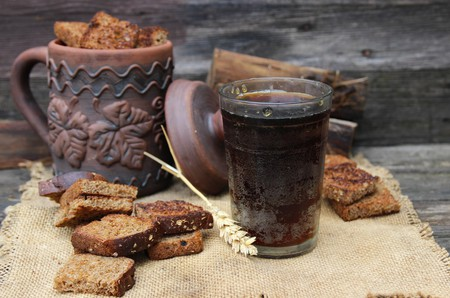 Cold kvass made from grains