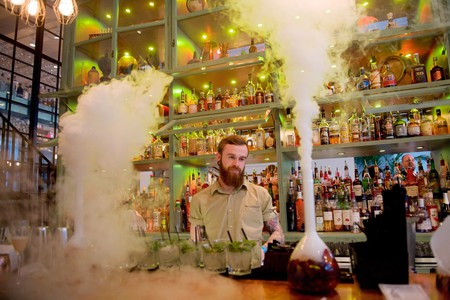 Things can get steamy at The Alchemist in London