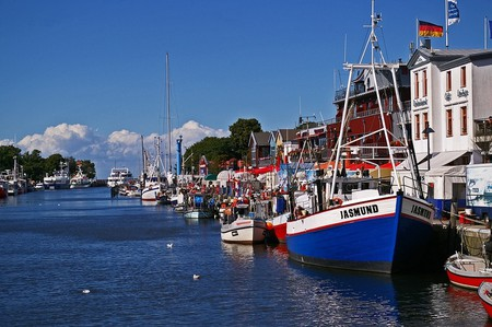 Rostock harbor