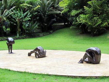 Artwork at Inhotim in Minas Gerais