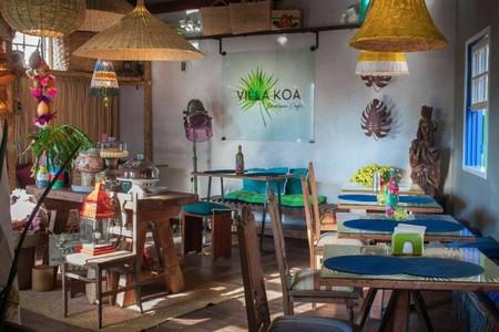 The Villa Koa Boutique Café in Ouro Preto, Brazil