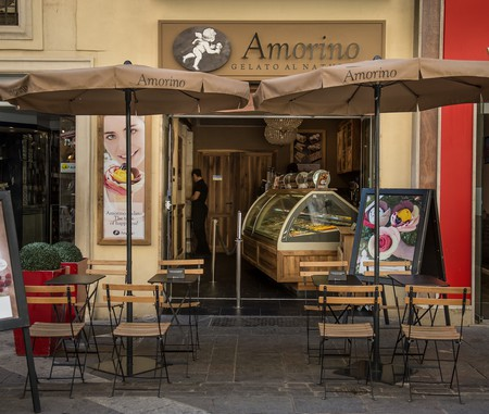 Amorino shop front