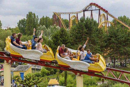 Parc Asterix is the most authentically French theme park