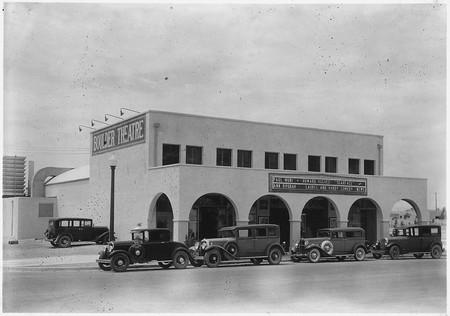 Historic photo of the Boulder Theatre