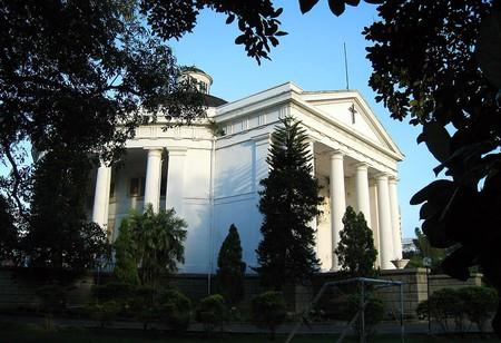 Immanuel Church in Jakarta, Indonesia