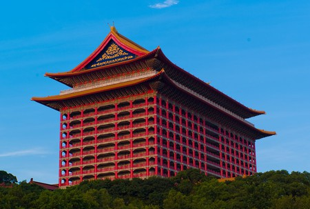 The impressive Grand Hotel