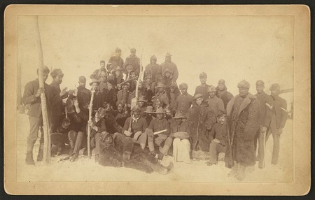 Buffalo Soldiers of the 25th Infantry at Fort Keogh in Montana