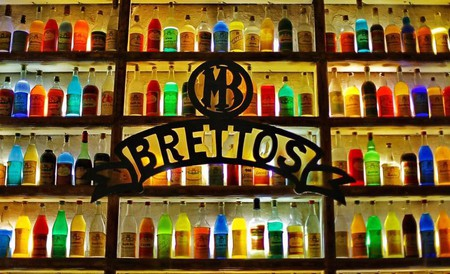 Brettos, the oldest bar and distillery in Athens, is a colorful bar in the touristy area of Plaka