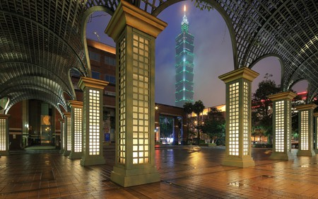 Xinyi District is the home of Taipei 101
