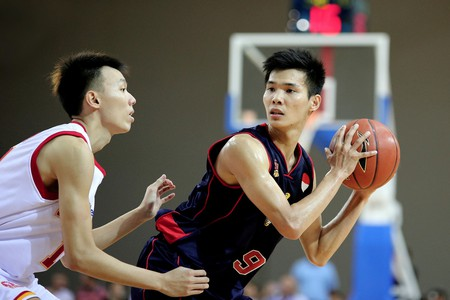 Players competing in the Asean Basketball League (ABL)