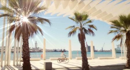 A sunny day in Málaga, Spain