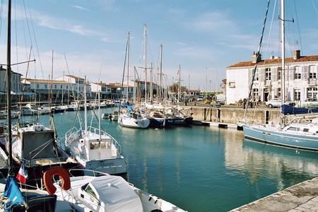 One of Ile de Ré's many picturesque marinas