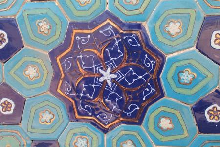 Uzbek tilework