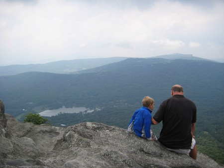 Perched on top of Grandfather Mountain, North Carolina