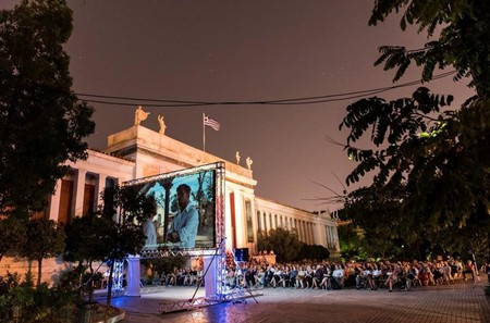 The Athens Open Air Film Festival where anyone can access outdoor screenings for free