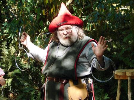 Magician at Camlann Medieval Village
