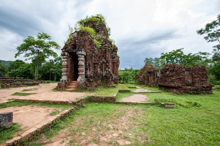 Ancient ruins in Mỹ Sơn, central Vietnam