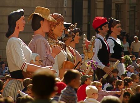 Procession of La Mercè festival