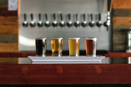 Get a taste of Norte's best beers with their quadruple sampler | © Cervecería Norte