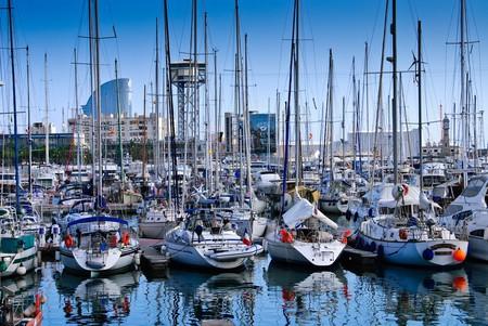 La Barceloneta harbour