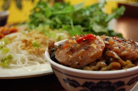 Bún chả, a favourite Vietnamese dish