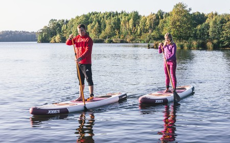 Paddle boarding in Finland, an undiscovered destination for water sports