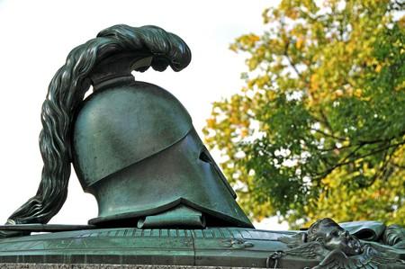 Grave of Augustin Ehrensvärd at Suomenlinna, Finland