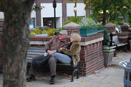 Plenty of places to snuggle in downtown Asheville