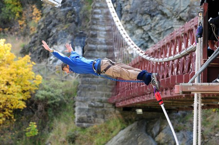 Kawarau Bridge Bungy, Queenstown, New Zealand
