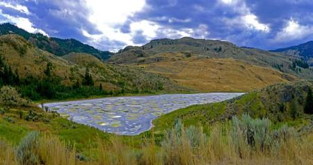 Spotted Lake, near Osoyoos, British Columbia