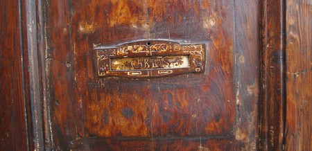 Even mail slots in doors are a rare thing in Bolivia