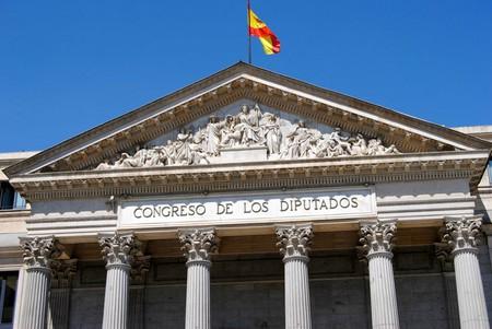 Spain's parliament in Madrid