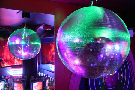 Disco balls glitter invitingly in Busan's clubs