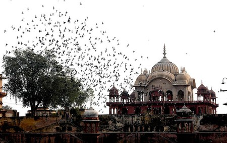 The Cenotaph of Musi Maharani in Alwar, Rajasthan