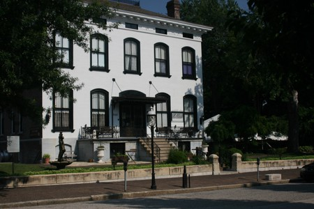 The Lemp Mansion has often been described as one of the most haunted houses in America