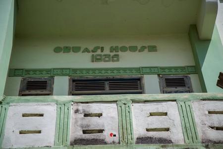 Obuasi House, built in 1935 by Joseph Edward Biney