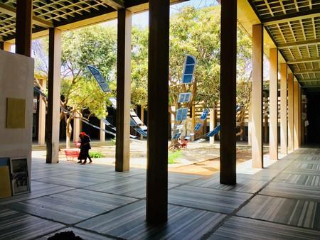Courtyard of former Palace of Justice, 2018 Dakar Biennale
