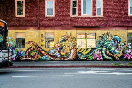 Luqman Lin is a graffiti artist and the founder of Dragon School in Oakland, California.