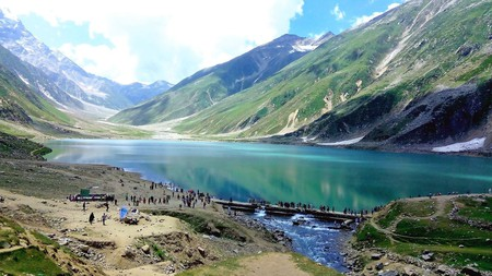 The incredible Lake Saif-ul-Malook in Pakistan