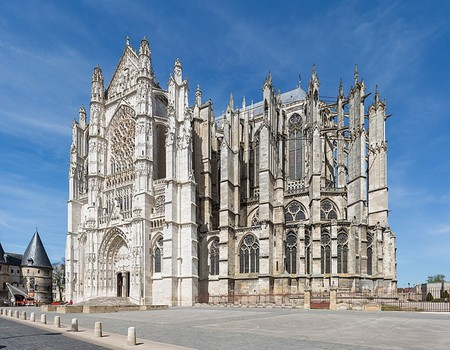 The Beauvais Cathedral and its impressive Gothic-style architecture