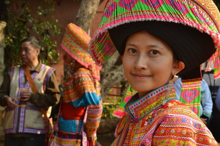 Lisu Woman in Thailand