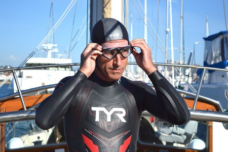 Ben Lecomte is attempting to be the first person to swim the Pacific Ocean