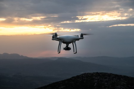 Drones may be used for deliveries in the future.
