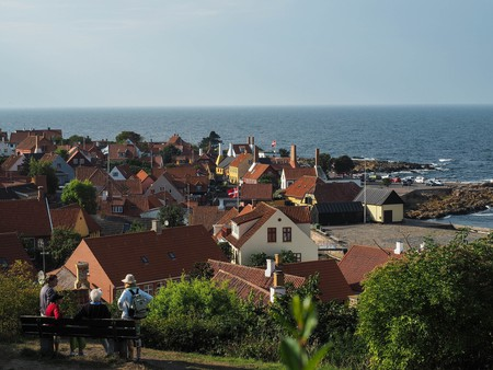 The Danish island of Bornholm is located in the Baltic Sea
