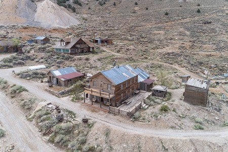 Bid now for your own ghost town