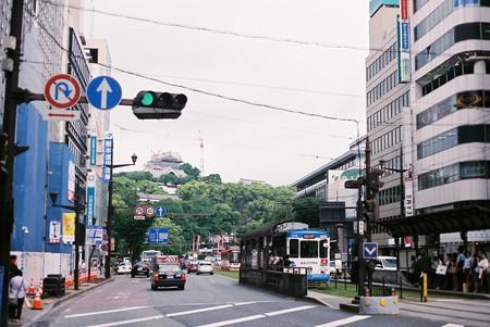 The city of Kumamoto