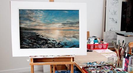Hoxa Shore By Artist Jo Thomson