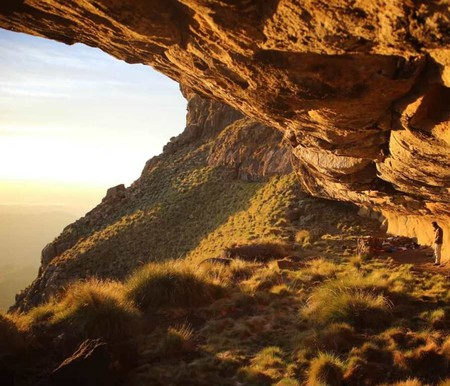 Ifidi cave, one of the more elusive and special in the Drakensberg